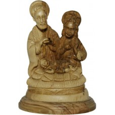 Holy Family Carving : Art# C310